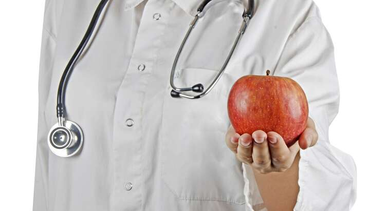 Apple and doctor